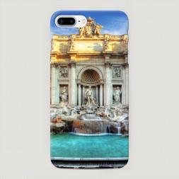 Пластиковый чехол Фонтан Треви на iPhone 7 Plus