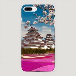 Пластиковый чехол Япония цветы на iPhone 7 Plus