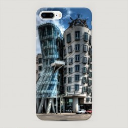 Пластиковый чехол Танцующий дом на iPhone 7 Plus