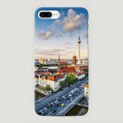 Пластиковый чехол Берлин на iPhone 7 Plus