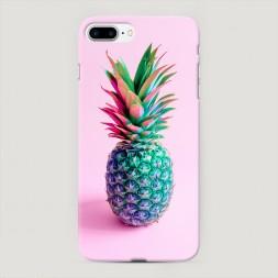 Пластиковый чехол Разноцветный ананас на iPhone 7 Plus