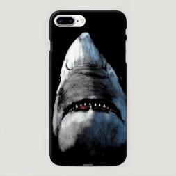 Пластиковый чехол Зубастая акула на iPhone 7 Plus