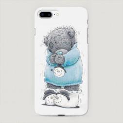 Пластиковый чехол Me to you снеговик на iPhone 7 Plus