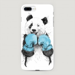 Пластиковый чехол Панда боксер на iPhone 7 Plus