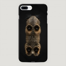 Пластиковый чехол Кошачьи лапки на iPhone 7 Plus