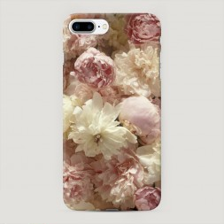 Пластиковый чехол Пионы светлые на iPhone 7 Plus