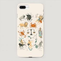 Пластиковый чехол Знаки зодиака на iPhone 7 Plus