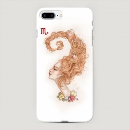Пластиковый чехол Скорпион прическа на iPhone 7 Plus