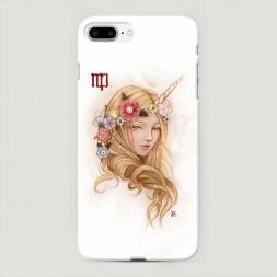 Пластиковый чехол Дева прическа на iPhone 7 Plus