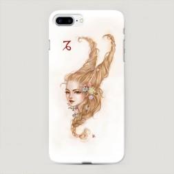 Пластиковый чехол Козерог прическа на iPhone 7 Plus