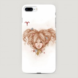 Пластиковый чехол Овен прическа на iPhone 7 Plus