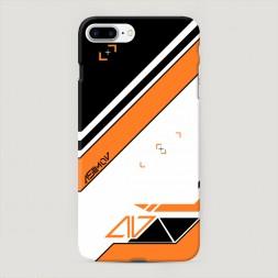 Пластиковый чехол Asiimov на iPhone 7 Plus