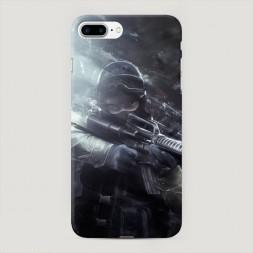 Пластиковый чехол Counter-terrorist на iPhone 7 Plus