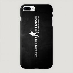 Пластиковый чехол CS logo на iPhone 7 Plus