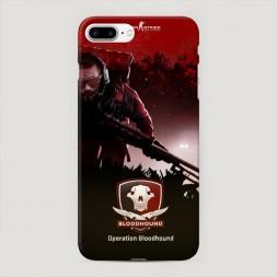 Пластиковый чехол Operation bloodhound на iPhone 7 Plus