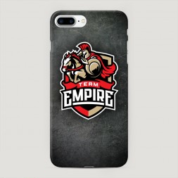 Пластиковый чехол Team empire dota2 металл на iPhone 7 Plus