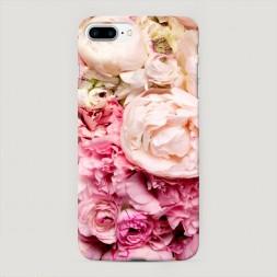 Пластиковый чехол Пионы яркие на iPhone 7 Plus