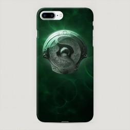 Пластиковый чехол Аегис зеленый на iPhone 7 Plus