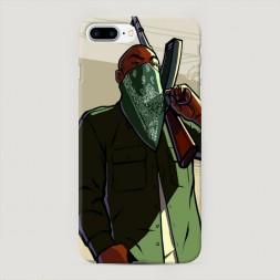 Пластиковый чехол GTA san andreas гангстер на iPhone 7 Plus