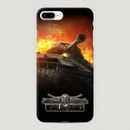 Пластиковый чехол К бою готов на iPhone 7 Plus
