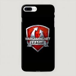 Пластиковый чехол Варгейминг лига на iPhone 7 Plus