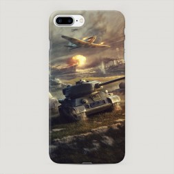 Пластиковый чехол Поддержка авиации на iPhone 7 Plus