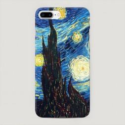 Пластиковый чехол Ван Гог Звездная ночь на iPhone 7 Plus