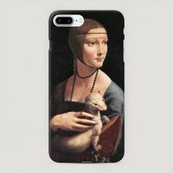 Пластиковый чехол Портрет дама с горностаем на iPhone 7 Plus