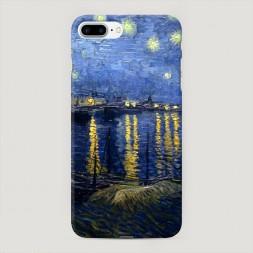Пластиковый чехол Звездная ночь над Роной на iPhone 7 Plus