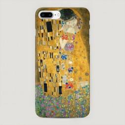 Пластиковый чехол Поцелуй Гюстава Климта на iPhone 7 Plus