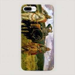 Пластиковый чехол Три богатыря на iPhone 7 Plus