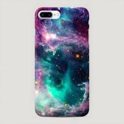 Пластиковый чехол Звездные облака на iPhone 7 Plus