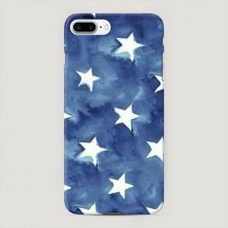 Пластиковый чехол Звезды акварель на iPhone 7 Plus