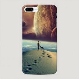 Пластиковый чехол Космический путь на iPhone 7 Plus