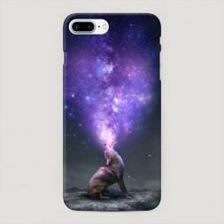 Пластиковый чехол Звездное сердце на iPhone 7 Plus