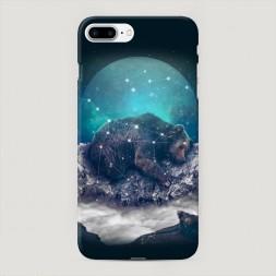 Пластиковый чехол Медведица на iPhone 7 Plus