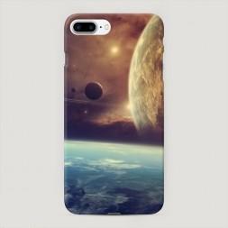 Пластиковый чехол Меж планет на iPhone 7 Plus
