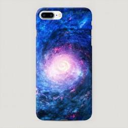 Пластиковый чехол Космический портал на iPhone 7 Plus