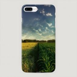Пластиковый чехол Контрастное поле на iPhone 7 Plus