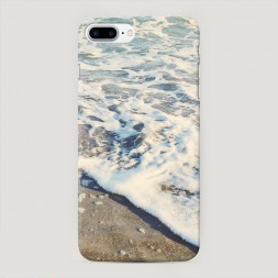 Пластиковый чехол Морская пена на iPhone 7 Plus