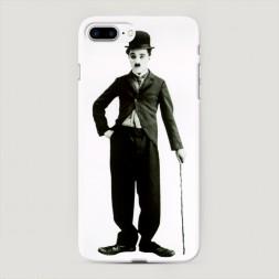 Пластиковый чехол Чарли Чаплин на iPhone 7 Plus