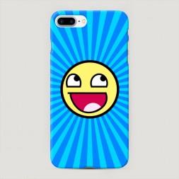 Пластиковый чехол Awesome на iPhone 7 Plus