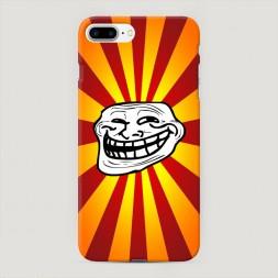Пластиковый чехол Трольфэйс на iPhone 7 Plus