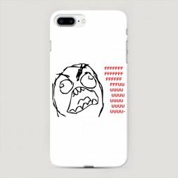 Пластиковый чехол Fuuu на iPhone 7 Plus