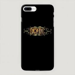Пластиковый чехол AC/DC на iPhone 7 Plus