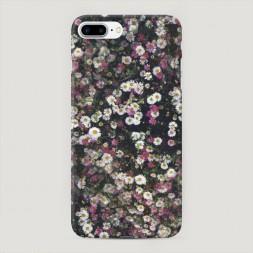 Пластиковый чехол Полевые цветы на iPhone 7 Plus