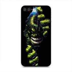 Силиконовый чехол Халк на iPhone 7 Plus