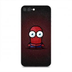 Силиконовый чехол Мини человек паук на iPhone 7 Plus