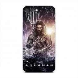 Силиконовый чехол Аквамэн на iPhone 7 Plus