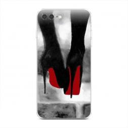 Силиконовый чехол Рисунок лабутенов на iPhone 7 Plus